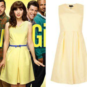 Ted Baker Halina Yellow Dress 0